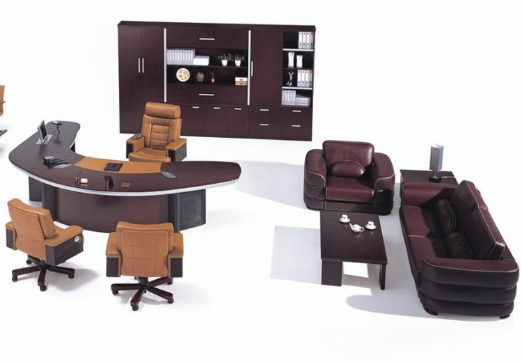 High Grade Office Executive Desk Set_TRADITIONAL__LK